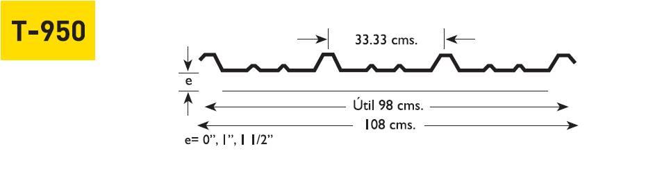 Perfil T-950