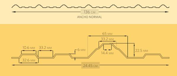 Lámina de pvc 136-1