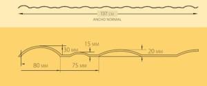 Lámina de pvc 137-1