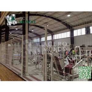 Reja de acero gym IPN