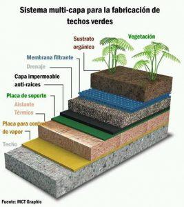 Techos Verdes Capas