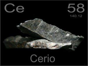 Metales más raros - Cerio