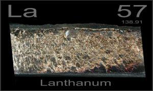 Metales más raros - Lantano